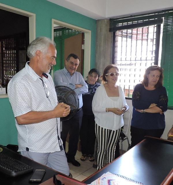 Consejero JF Armas visita Garoé, 14-2- 2019 AAL 1