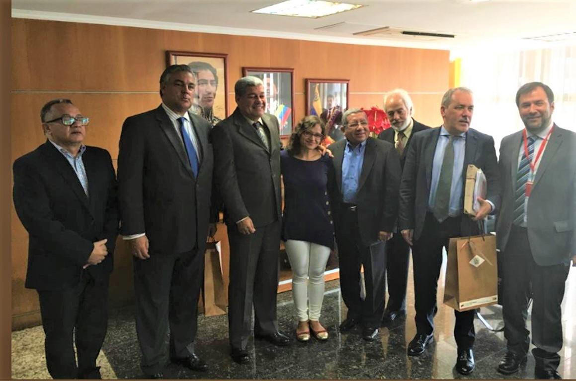 Reunión con ministro venezolano, enero 2019 2 (2)