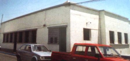 Cine Álamo. Imagen de J. Fonte, del libro Apuntes sobre el cinematógrafo en El Hierro.