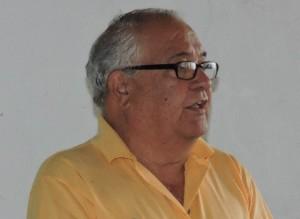 Presidente de la asociación, José armas