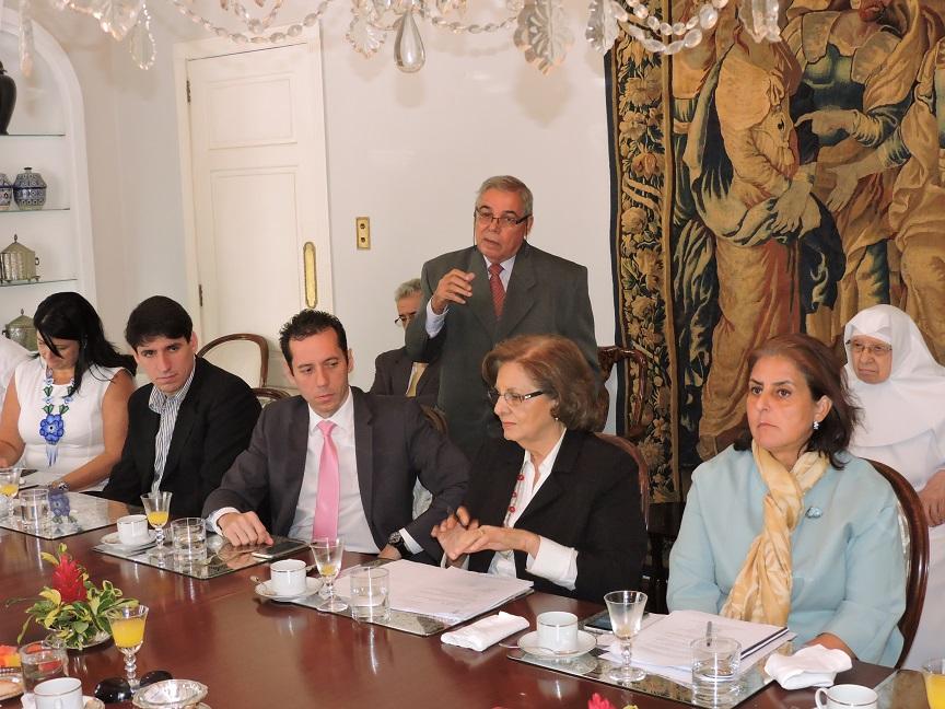 Martín Pérez Interviene en el punto referido a la subvención de la Residencia Ntra. Sra.de las Nieves