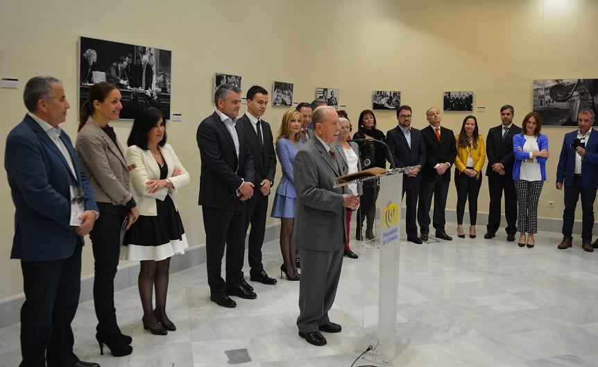 Trino Garriga durante su intervención