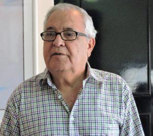 Presidente de la AC Isla de La Gomera en Venezuela, José Armas