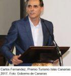 Carlos Fernández premio turismo 2017 Foto Gobierno Canarias