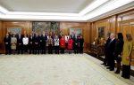 Los ministros del nuevo Gobierno de España prometan sus cargos ante el Rey