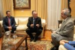 El presidente de Canarias recibe al embajador de Japón en España