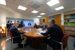 Presidente de Canarias,  Consejo Asesor y  portavoces parlamentarios abordan decreto de restricción de actividades económicas no esenciales
